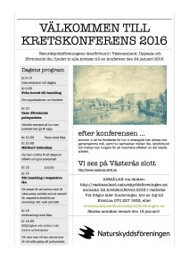 Inbjudan kretskonferens 2016